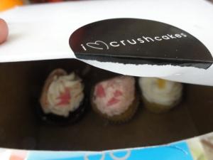 Crushcakes cupcakes