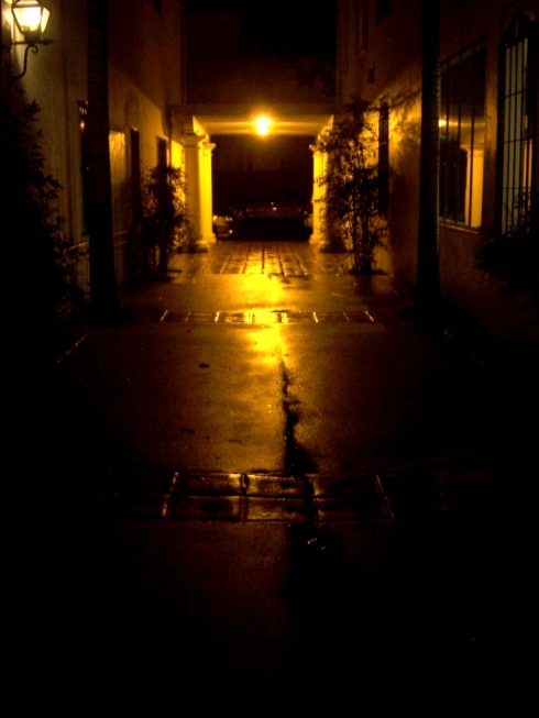 Lighted alley